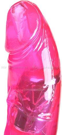 Вибратор с вращением клиторального стимулятора Nimble dolphin 29 см, фото 4
