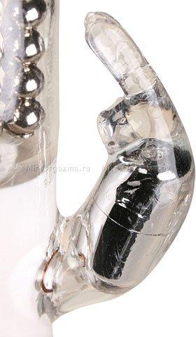 Вибратор с вращением Diamond 15 см, фото 4