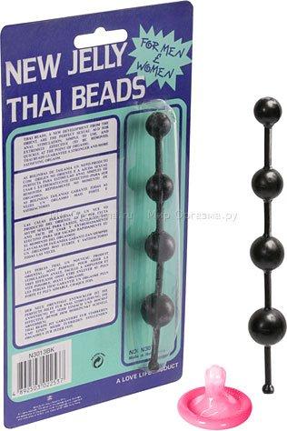 Шарики анальные маленькие Jelly beads, фото 2