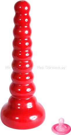 Анальная пробка Red Boy 21 см