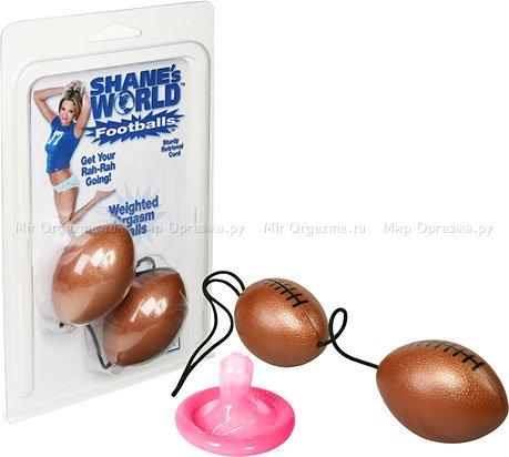 Вагинальные шарики Footballs, фото 2