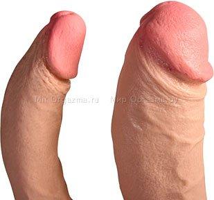Двойной фаллоимитатор Doc Johnson 13 см, фото 3