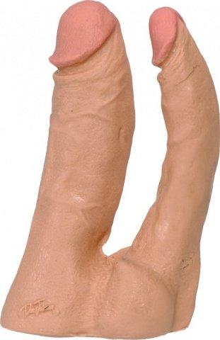 Двойной фаллоимитатор Doc Johnson 13 см, фото 4