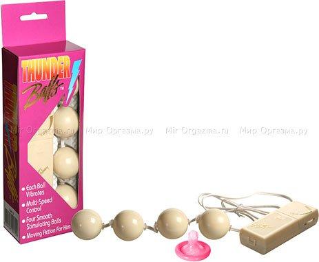 Анальные шарики Thunder balls, фото 2
