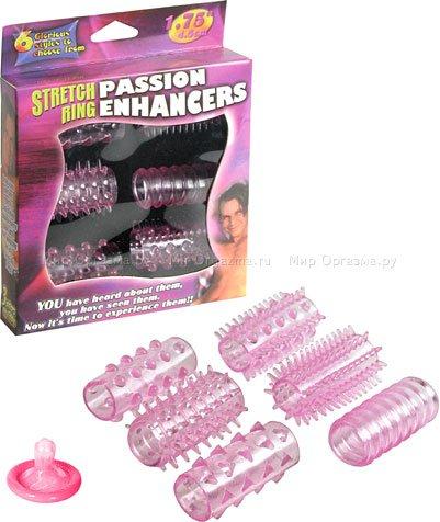 Набор насадок на член Passion Enhancers, фото 2