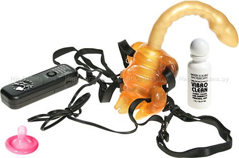 Вибратор клиторально-анальный Scorpion