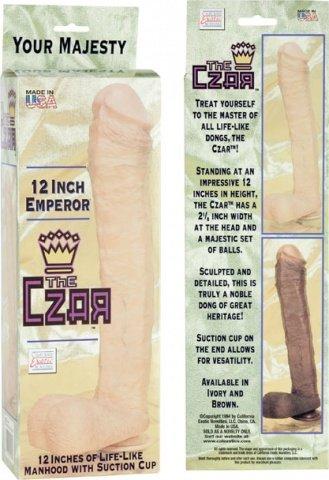 Фаллоимитатор реалистик The Czar 30 см, фото 6