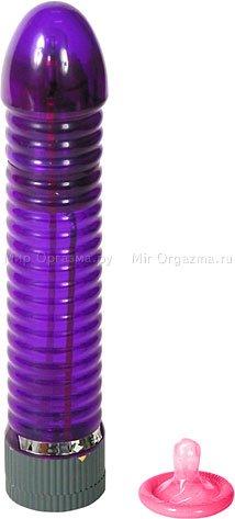 Вибратор Light Rod со светом 17 см