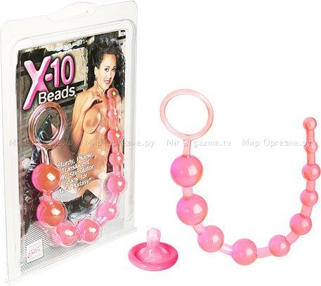 Анальные бусы Beads, розовый, фото 2