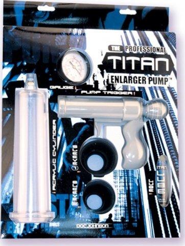 Помпа с манометром Titan, фото 5