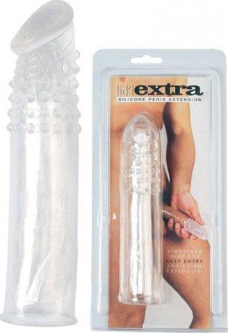 Насадка для удлинения и дополнительной женской стимуляции Extra length, фото 3