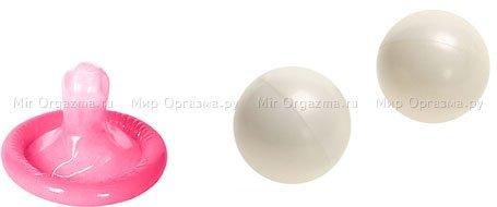 Шарики вагинальные в шкатулке Pleasure pearls 2 см