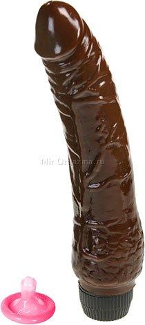 Вибратор классический гибкий 21 см