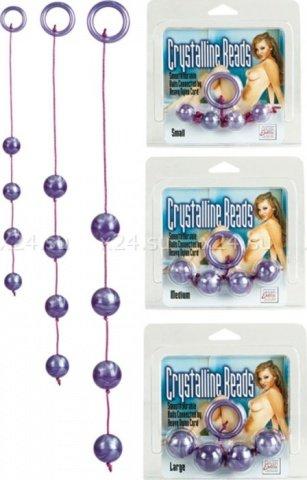 Анальные шарики Acrulite Beads d 2 см, фото 3