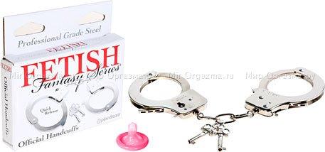 Металлические наручники Official Handcuffs, фото 2