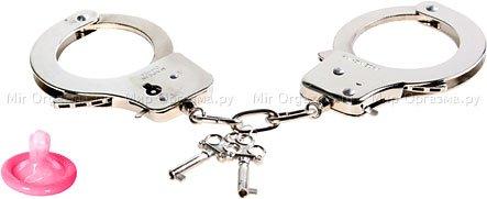 Металлические наручники Official Handcuffs