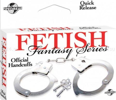 Металлические наручники Official Handcuffs, фото 3