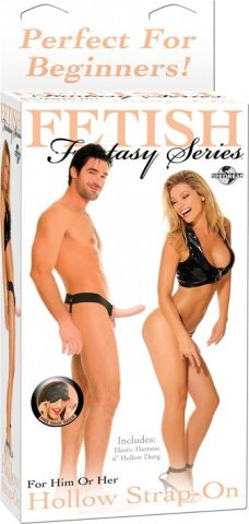 ������� Hollow Strap-On For Him Or Her 19 ��, ���� 4