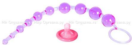 Анальные бусы X-10 Beads Purple