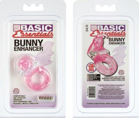 Насадка с вибрацией Bunny Enhancer, фото 5
