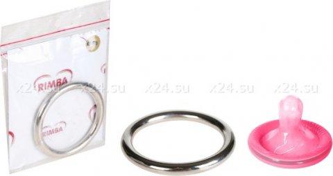Эрекционное кольцо Cock Ring Silver, фото 2