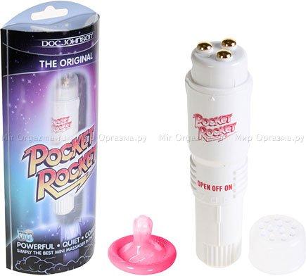 Клиторальный мини-вибратор Pocket Rocket, фото 2