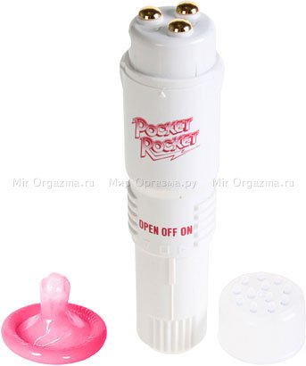 Клиторальный мини-вибратор Pocket Rocket