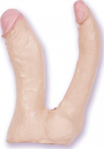 Насадка для трусиков Natural Double Penetrator 15 см, фото 3