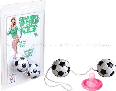 Шарики со смещенным центром тяжести Soccer Balls, фото 2