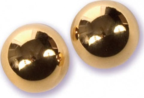 Металлические шарики в шкатулке Ben-wa gold, фото 4