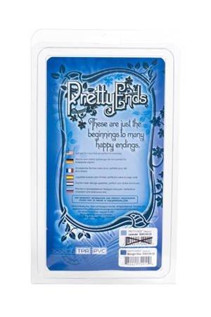 Анальная пробка классическая Pretty ends, синий, фото 4