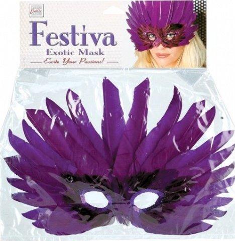 Фиолетовая маска festiva exotic