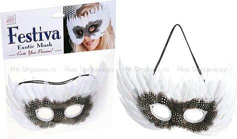 Белая маска festiva exotic, фото 2