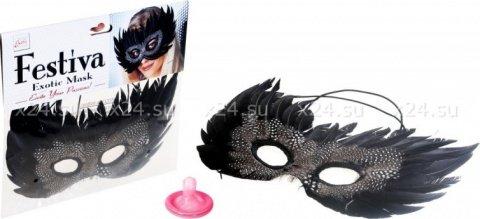 Чёрная маска festiva
