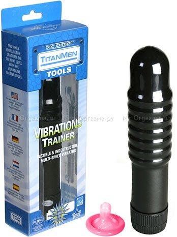 Вибратор Vibrations trainer 17 см, фото 2