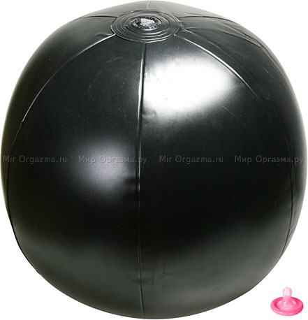 Стимулятор на надувном шаре Rough riderz 3, фото 4