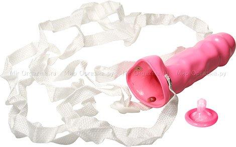 Фаллопротез Hot pink (от порномодели Саванны) 18 см