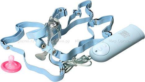 Вибратор-бабочка Micro Dolphin