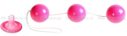 Шарики тройные Eroticon Balls