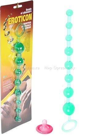 Анальные шарики Beads of pleasure, фото 2