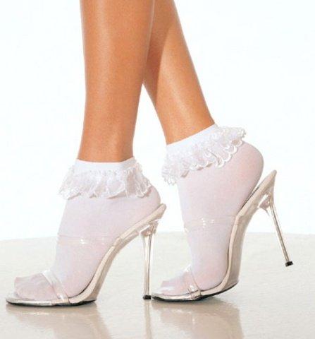 Носки плотные с кружевной отделкой Litle charm, фото 2