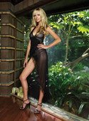 Платье со стрингами Саломея - Секс шоп Мир Оргазма