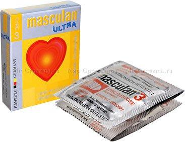 Презервативы masculan ultra тип 3 3 продлевающий (с колечками, пупырышками и анестетиком)