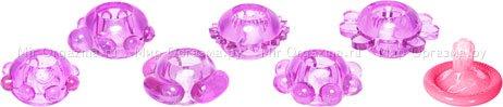 Набор эрекционных колец Joy Rings, фиолетовый