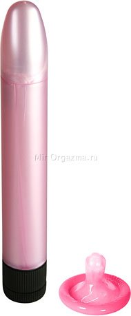 Мини-вибратор Starry Pink, розовый