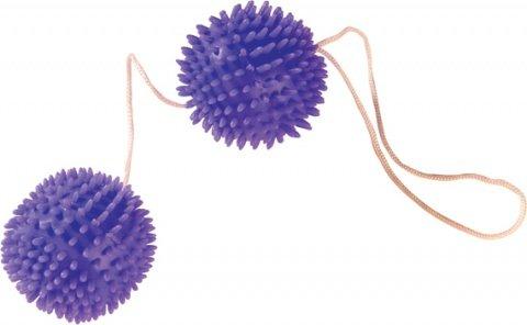 Шарики с шипами d 3,4 см, фиолетовый, фото 3