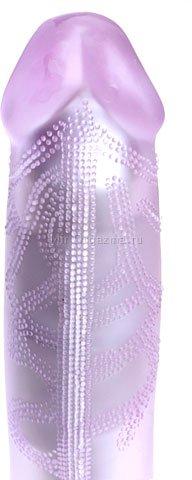 Вибратор Heaven-Sent 18 см, фиолетовый, фото 3