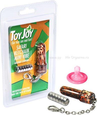 Мини-вибратор-брелок Safari Keychain 5,5 см, фото 2