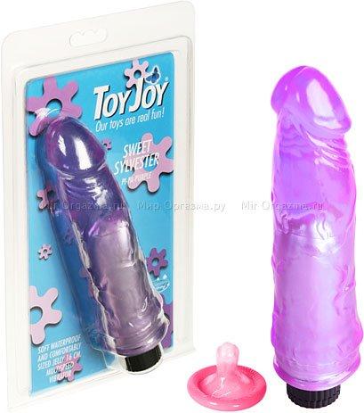 Вибратор Sweet Sylvester 16 см, фиолетовый, фото 2