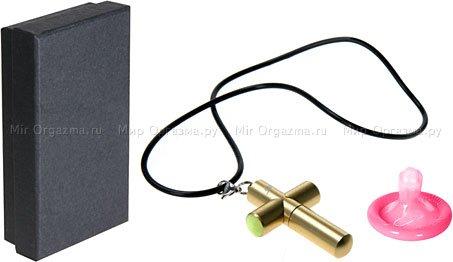 Кулон-вибратор в виде креста, фото 2